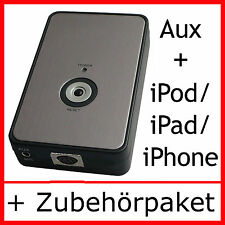 iPod iPhone iPad Adapter VW Fox Polo 9N3 Golf 5 6 Plus T5 Touareg Touran
