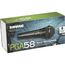 Shure PGA58-XLR Cardioid Dynamic Vocal Microphone with XLR-to-XLR Cable