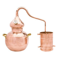Handcrafted Copper Whiskey Still, 2.5 Gallon