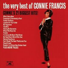 Connie Francis Very Best Of CD NEW SEALED Lipstick On Your Collar/Stupid Cupid+