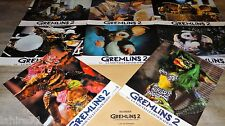 GREMLINS 2  ! rare jeu photos cinema prestige grand format
