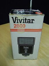 Vivitar 2800 Auto Thyristor Bounce Flash with Box in Great working Condition