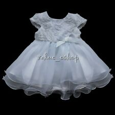 Flower Girl Lace Wedding Party Birthday Prom Teenage Bridesmaid Sleeveless Dress