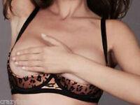Ann Summers -Sexy Quarter Cup Bra -Sizes 28/30 D/DD/E 32/34 D/DD/E, 36/38 D/DD/E