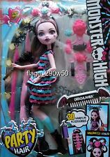 *Monster High* PARTY HAIR DRACULAURA DOLL SET- New Release!!