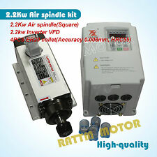 2.2kw Water-cooled spindle motor with 2.2KW fu lin VFD inverter controller