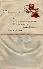 RE DI MAGGIO-Due 2L(541)-Busta C.L.N.A.I. Milano 6.5.1946