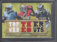 2012 TOPPS TRIPLE THREADS KENDALL WRIGHT A.J. JENKINS / QUICK RELIC CARD #ED 6/9