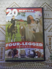 Four-Legged Friends: 20 Movies (DVD, 2013, 4-Disc Set) Like New