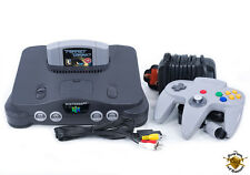Nintendo 64 N64 Spiel-konsole Retro Bundle Mit Perfect Darkness! UK PAL