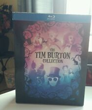Tim Burton Collection(Blu-ray Disc,2012,7-Disc Set,With Book)7 Movies -Free S&H