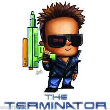 THE TERMINATOR ARNOLD SCHWARZENEGGER ADULT T-SHIRT SHIRT S M L XL  MOVIE TEE