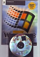MICROSOFT WINDOWS 98 SECOND EDITION - PC OPERATING SYSTEM SOFTWARE - WITH GUIDE