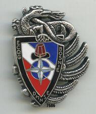 Insigne parachutiste , 14  RCPS. /  ECQG. - DMNSE.  , ( BOSNIE 1996 )