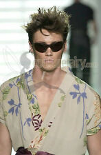 RARE GUCCI BY TOM FORD SS 2001 FLORAL BATIK SILK KIMONO ROBE DRESSING GOWN SUIT