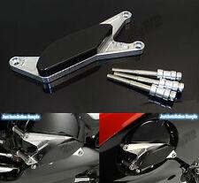 Argento Motore Copertura Statore Slider Protezione Per 06-11 SUZUKI GSR 400 600
