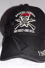 Special Forces One Shot One Kill Hat Adjustable Velcro