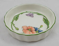 Villeroy & and Boch AMAPOLA individual flan / quiche dish 11.5cm ovenproof