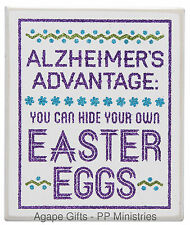 Primitives By Kathy Box Sitter - Humor Easter Eggs Theme Decor - 20960