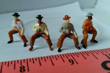 ERTL 1/64 TOY FARM COUNTRY FIGURE COWBOY BULL RIDER PERSON BARN HOUSE DISPLAY