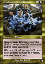 MTG magic cards 1x x1 Light Play, English Shadowmage Infiltrator Odyssey