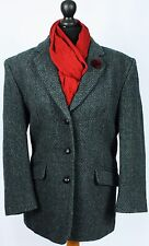 Womens Harris Tweed Country Blazer Jacket Hector Russell Size 16 EXCEPTIONAL 396