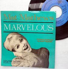 MAT MATHEWS instrumental pop 45 ep glossy cheesecake PS cover Marvelous w6472