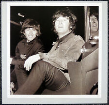 THE BEATLES POSTER PAGE . 1965 JOHN LENNON & GEORGE HARRISON . H65