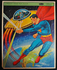 Superman Frame Tray Puzzle - Whitman (1965) WH
