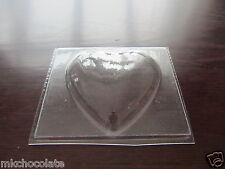 LARGE HEART/VALENTINE/LOVE/SUGAR PASTE/SOAP/CHOCOLATE MOULD