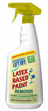 LIFT OFF - Emulsion Paint Remover - Water Based - Removes Fresh and Old Paint
