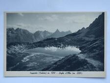SAPPADA Belluno Cadore Laghi d'Olbe Dolomiti vecchia cartolina