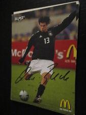62058 Michael Ballack FC Bayern Werbekarte DFB drucksignierte Autogrammkarte