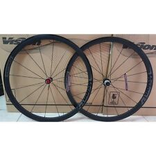 Ruote Vision Trimax 35 gray bicicletta corsa road bike wheels shimano 10/11 s