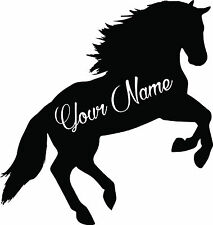 Custom Horse vinyl decal sticker for car/truck laptop window custom