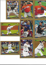 2014 Topps Update Gold #/2014 Randy Wolf Miami Marlins US 120