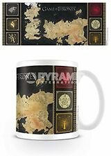 Game Of Thrones - Map Ceramic Mug Tasse PYRAMID POSTERS