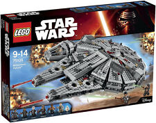 LEGO Star Wars 75105 Millennium Falcon, New, Sealed