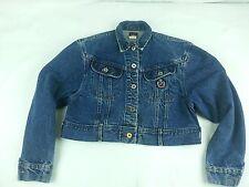 Rare Vintage Lee Denim Trucker Jacket Pat 153438 Belt Loop USA Made Size Small