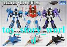 TAKARA Transformers Exclusive G1 Seekers ACES Starscream Skywarp Thundercracker