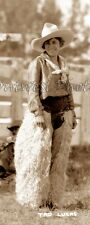 "1930 WORLD CHAMPION RODEO ROUND-UP COWGIRL ""TAD LUCAS"" PHOTO 2"