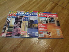 Lot of 6 Different The Family Handyman Magazine Back Issues