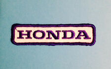 Vintage 1970's Honda Motorcycle Biker Vest Jacket Hat Patch Crest Dirt Bike J