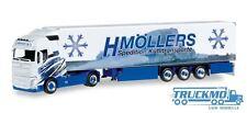 Herpa H.Möllers Kühltransporte LKW Modell Volvo FH Gl. Kühlkoffer 306317