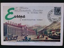 Italia MK 1961 ITALY EUROPA maximum carta carte MAXIMUM CARD MC cm c6592