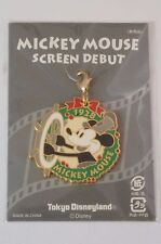 Tokyo Disney Resort Event Pin Charm Mickey Mouse Screen Debut TDR JAPAN