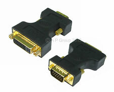 DVI female Socket to SVGA VGA male Pins Adapter converter Digital Video Analogue