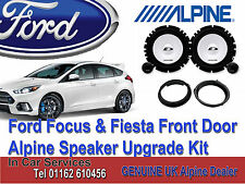 FORD FOCUS MK2 04-10 MK3 10-16 Alpine Front Door Speaker Tweeter Upgrade 280W