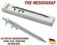 The MESSOGRAF Ball Point Pen & Measuring Instrument PLUS an Extra Fisher Refill