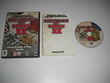 HEARTS OF IRON II - Prepare For War Pc Cd Rom Original Release - FAST POST